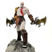 God Of War 10 Kratos Collecterand039s Painted Resin Figure Statue Model In Stock