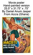 African Hand-painted Movie Poster