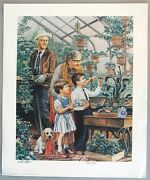 1985 Norman Rockwell Parody Poster By E.c. Comic Book Artist Bill Elder Signed