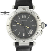 Pasha 1040 Stainless Steel 38mm Gray Dial Automatic Watch