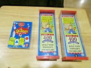 Lot Of 2 My First Brain Quest Age 2-3 400 Questions And Flash Cards