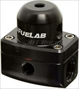 Fuelab 545 Efi Adjustable Mini Fpr In-line 25-90 Psi -6an In And -6an Return Black