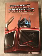 Transformers Premiere Collection V1 Hardcover Dust Jacket -signed - Very Limited