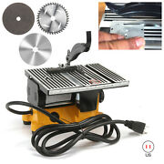 Lion Tools 4 60w Electric Table Saw Diy Power Tool Work Bench Stand Circular