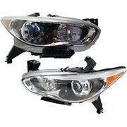 In2502156 In2503156 Hid Headlight Lamp Left-and-right Hid/xenon Lh And Rh