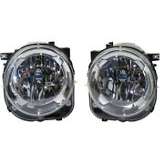 Headlight Lamp Left-and-right Ch2502273c Ch2503273c 68256567aa 68256570aa