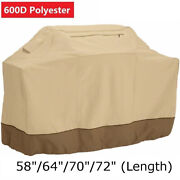 Heavy Duty Waterproof Bbq Grill Cover 58 64 70 72 Gas Barbecue Weber
