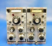 Unholtz Dickie D22 Series Charge Amplifier Set Of 2 Untested