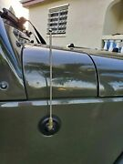 9 Stainless Steel Antenna Mast For Jeep Wrangler 1987-2006 Yj/tj 1987-1997-2006