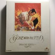 Gone With The Wind Vhs, 1990, 2-tape Set, Deluxe Edition
