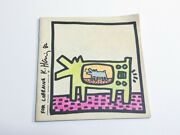 Keith Haring Coloring Book Signed Personalized First Edition