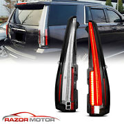 07-14 Chevy Suburban/tahoe/yukon/xl Denali Red Clear Led New Design Taillights