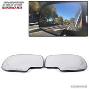 Pair Mirror Heated With Turn Signal Left And Right Side For Chevy Gmc Cadillac