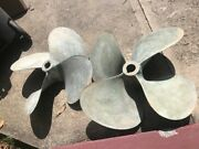 Propeller 31 X 46 Pitch 2 3/4 Bore 4 Blade