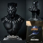 Queen Studios Black Panther Statue 1/1 Scale Resin Captain American Statue 26in