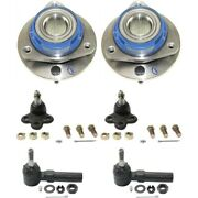 Set Of 6 Suspension Kits Front Left-and-right For Chevy 88964096 Lh And Rh Impala