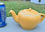 Hall China Tricolator Pour Right Teapotwarm Yellow 3-4cupreducing Collection