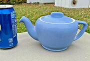 Hall China Tricolator Pour Right Teapot Cadet Blue 3-4cupreducing Collection