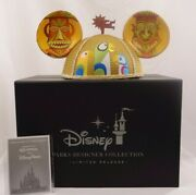 Disney Designer Collection The Enchanted Tiki Room Shag Mickey Mouse Ears Hat