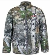 Med Lg Mens Mossy Oak Mountain Country Insulated Jacket Puffer Coat Camo Water