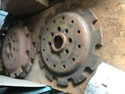 Tractor Ford Wheel Weight Mounting Disc Light 25 Pounds