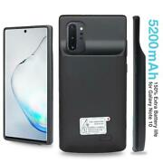 5200mah External Battery Case Charger Pack For Samsung Galaxy Note 10 S8 S9 Plus