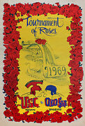 Vintage Poster1969 Rose Bowl Usc Vs. Ohio State Full Size Nos College Football