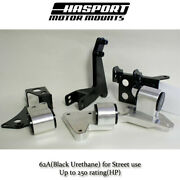 Hasport Mounts Dual Height K-series K20 K24 Swap Into 96-00 Honda Civic Ekk2 62a
