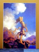 Maxfield Parrish Ecstasy Limited Edition Print 21/475 The National Museum
