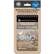 Whitman Pocket Checklist Of Us Half Dollar Coins Issues And Proofs Reference New