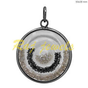Natural Loose Diamond Shaker Pendant 925 Sterling Silver Jewelry New Arrival Oy