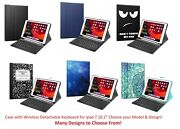 Leather Case With Bluetooth Wireless Keyboard And Stand For Ipad 7 7th 10.2 2019