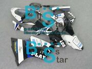 White Decals Injection Fairing Plastic Kit Fit Kawasaki Zx-6r 01 00-02 39 A3