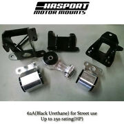 Hasport Stock Replacement Mount Kit For 2006-2011 Honda Civic Non-si Fg1stk 62a
