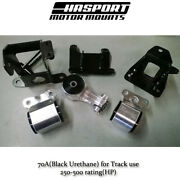 Hasport Stock Replacement Mount Kit For 2006-2011 Honda Civic Non-si Fg1stk 70a