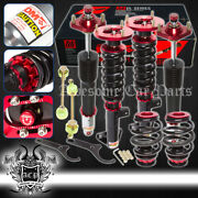 For Bmw 3 Series E36 Sedan/coupe Jdm Sport Adjustable Performance Coilovers Kit