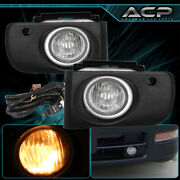 Clear Front Bumper Fog Lights For 1994 1995 1996 1997 Acura Integra 94 95 96 97