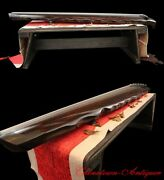 48 Guqin 7-stringed Zither Instrument Sunset-gstyle Chinese Old Fir Body 1485