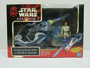 Star Wars Episode 1 Gungan Scout Sub With Obi-wan Kenobi Hasbro 1999 Pg 99b