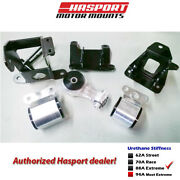Hasport Mounts Stock Replacement Mount Kit 2006-2011 For Civic Non-si Fg1stk-88a