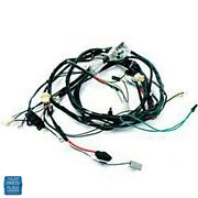 1969 Impala Front Light Harness V8 396 427 Ci With Retractable Headlight Covers