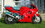 Red Injection Fairing With Tank Cover Fit Honda Cbr600f3 1995-1996 43 A7