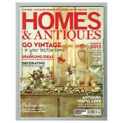 Homes And Antiques Magazine January 2012 Mbox417 Go Vintage