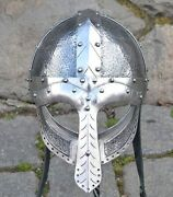 Luxurious Viking Helmet For Re-enactors And Collectors Armor Wulflund
