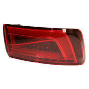15-16 Audi A3/a3 Quattro/s3 Outer Taillight Taillamp Rear Brake Light Left Side