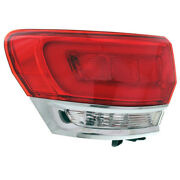 14-19 Grand Cherokee Outer Taillight Taillamp Brake Light Tail Lamp Driver Side
