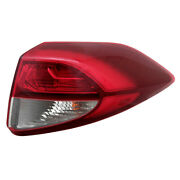 For 16-18 Tucson Outer Led Taillight Taillamp Rear Brake Light Lamp Right Side