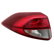 For 16-18 Tucson Outer Led Taillight Taillamp Rear Brake Light Lamp Driver Side