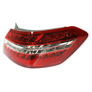 10-13 Benz E-class Outer Led Taillight Taillamp Rear Brake Light Lamp Right Side