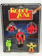 Vintage Arco Robot Zone Bendable Bendy Space Toy Robots Pack Moc Sealed 1985 4